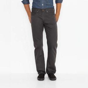 Levi's 505 regular fit men's gray jeans 34x32